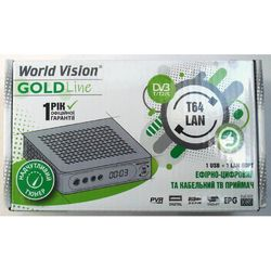 Эфирный T2  ресивер World Vision T64 LAN